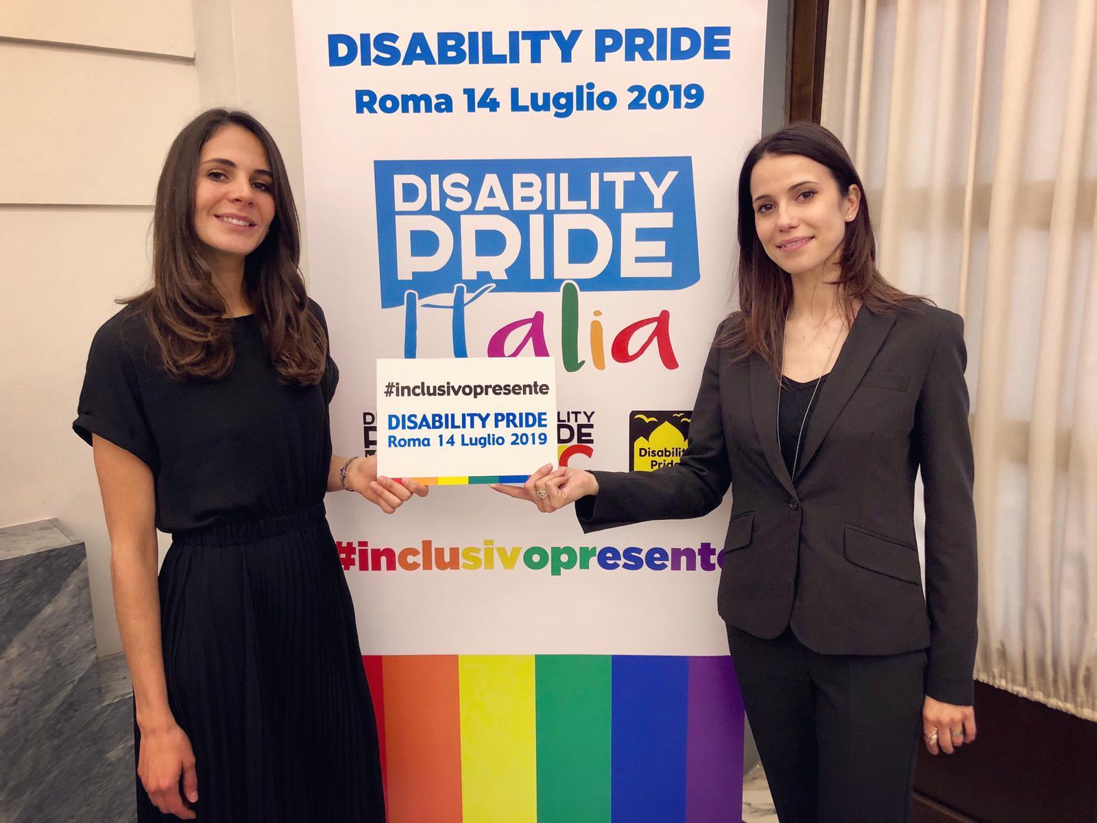 #inclusivopresente - foto dalla pagina facebook del Disability Pride Italia