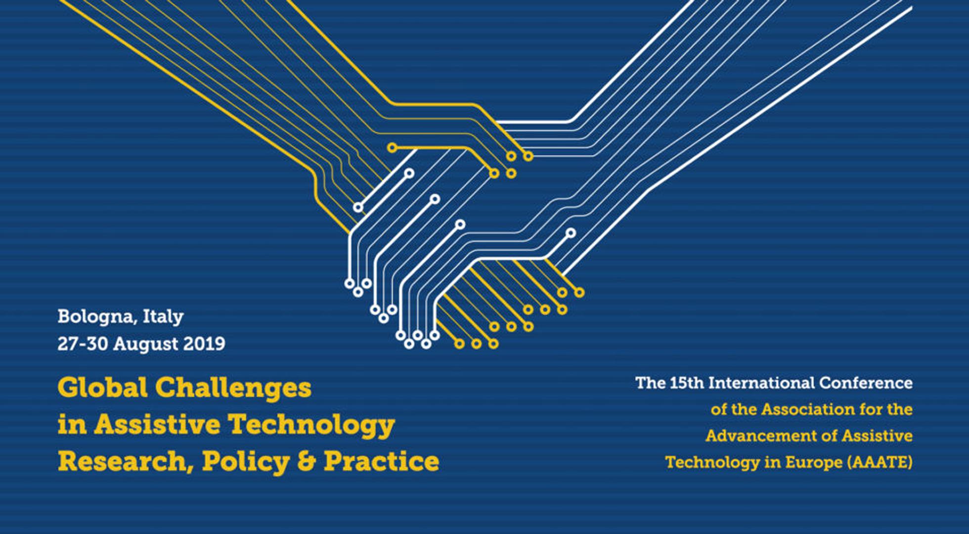 Immagine ufficiale della Conferenza sulle tecnologie assistive