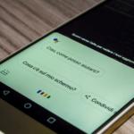Schermata di Google Assistant su smartphone